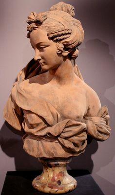 Francois Joseph Leriche Terracotta Bust of Ceres or Demeter 1753 | eBay