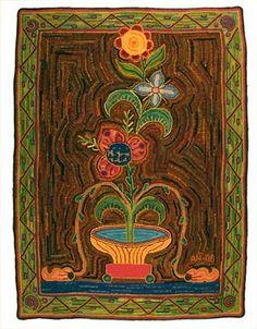 Astrid's Handmade Rugs: Little Red Wagon