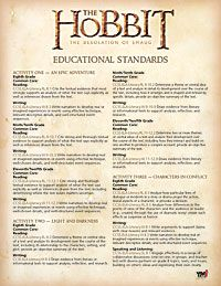 Free resources/lessons tied to popular culture, themes from preschool through college. The Hobbit: The Desolation of Smaug | ymiclassroom.com