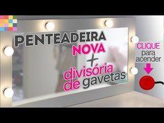 DIY - Porta Pincéis para decorar e organizar a penteadeira - YouTube