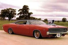 Low, chopped, and blown classic Charger