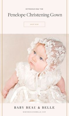 Michealboy Baby Girls Toddlers Christening Dress Double Layer Embroidered Flower Gown Birthday