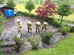 Freiwillige Feuerwehr Großarl im Einsatz - Danke für die tolle Arbeit