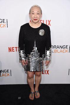 Pin for Later: Le Cast de Orange Is the New Black Se Met sur Son 31 Pour le Lancement de la Quatrième Saison Lori Tan Chinn