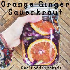 Orange Ginger Sauerkraut