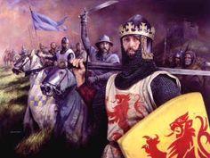 King Robert The Bruce of Scotland, my 22nd x GGF