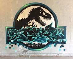 "596 Me gusta, 14 comentarios - Spray - Drawing - Art (@spear_graffiti) en Instagram: ""..enjoyed this logo-twist """