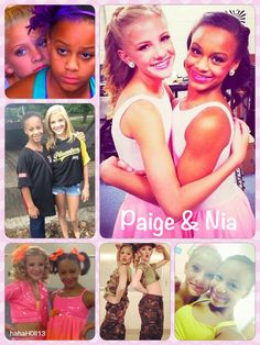Dance Moms edit by hahaH0ll13 of Paige Hyland and Nia Fraizer. Please give me credit for these edits. If you want any special edits or collages just leave me a comment!! I love doing them!!:)
