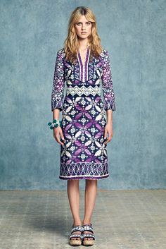 Tory Burch Resort 2013 Fashion Show Collection