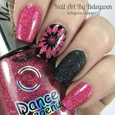 Nail Art By Belegwen: Dance Legend Party Time! and OPI Emotions