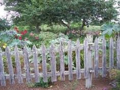 Image result for rustic garden fence