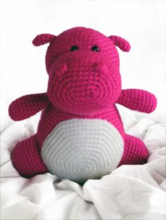Buy Hilda the hippo pattern - AmigurumiPatterns.net