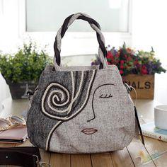 women fabric bags - Google Search
