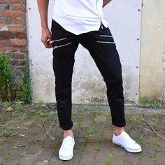 Zipper pants black €37,99 http://mymenfashion.com/zipper-pants-black.html