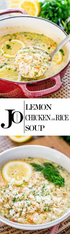 This Lemon Rice and Chicken Soup also known as Avgolemono is a classic Greek…
