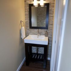 Powder Room Accent Wall Design, Pictures, Remodel, Decor and Ideas