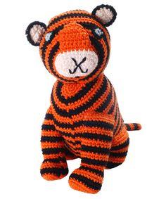 Orange Crochet Bengal Tiger from Liberty