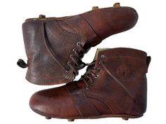 7f750c014a51 Football Boots | Vintage Leather 1920s Soccer Boots Soccer Boots, Football  Boots, Sports Footwear