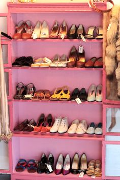 Can't I just have a shoe closet that looks like this?