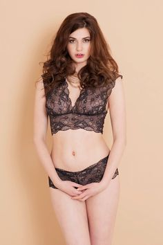 9fc4ed51e1 Vintage inspired black and gold lace lingerie from Brighton Lace Black Lace  Lingerie