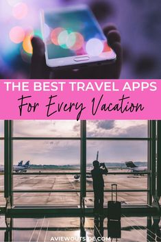 Don't head off on your next vacation without checking out this list of the 30 best travel apps. These apps will make your travels more efficient and fun! Best Travel Apps, Best Apps, Ultimate Travel, Travel Advice, Travel Guides, Travel Tips, Travel Hacks, Travel Stuff, Travel Essentials