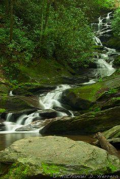 Roaring Fork Falls, North Carolina