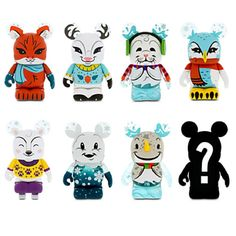 Amazon.com: Vinylmation Cutesters Snow Day Series Figure - 3'' - Blind Box: Toys & Games