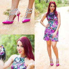 Fashion Maniac Brazil: Look do dia: Vestido floral