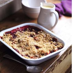 This fruit crumble is guaranteed to satisfy