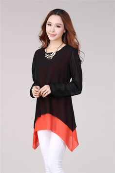 Mujeres de verano blusa de la gasa más tamaño camisa de gasa manga corta ropa mujer vestidos T168 en Blusas y Camisas de Moda y Complementos Mujer en AliExpress.com | Alibaba Group