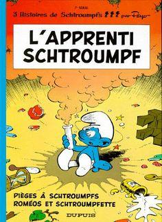 Les Schtroumpfs Tome 7 - L'apprenti Schtroumpf - Peyo