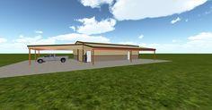 Cool 3D #marketing http://ift.tt/2tV4CKY #barn #workshop #greenhouse #garage #roofing #DIY