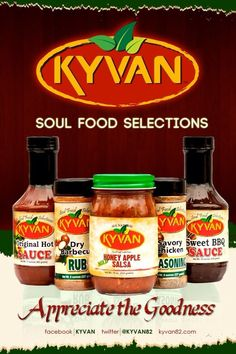 """Check out KYVAN™ Foods as a gift idea for that special person this holiday season. """"One taste and you will Appreciate the Goodness!"""""""