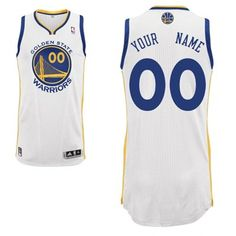 82ff91358 Adidas Golden State Warriors Custom Authentic Home Jersey Nba Basketball  Teams