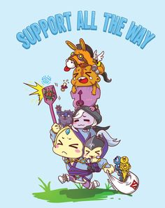 0502: Support All The Way by Agito666 on DeviantArt