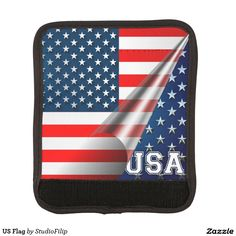 US Flag Luggage Handle Wrap