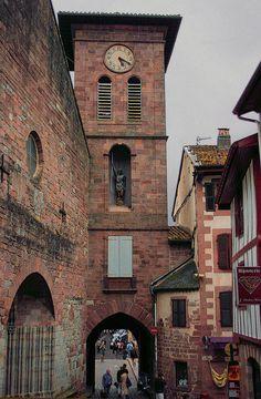 Saint Jean Pied de Port, Pyrénées, Aquitaine, France
