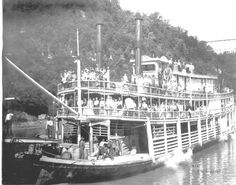 """1819 - The """"Western Engineer"""" was the 1st steamboat to travel the MO River. Orders given to Major Long: """"You will assume the command of the expedition to explore the country between the Mississippi and the Rocky Mountains. You will first explore the Missouri and its principle branches. The object of the expedition is to acquire as thorough and accurate knowledge as may be practicable of a portion of our country which is daily becoming more interesting but which is yet but imperfectly known."""""""