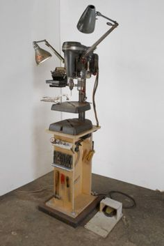 Tom Sachs drillpress station