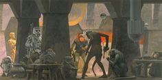Concept Art for Episodes 4-6 - Artist: Ralph McQuarrie - Album on Imgur