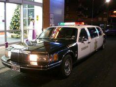Police car limo