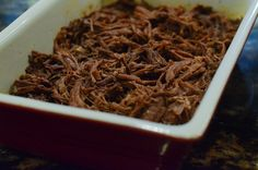 Shredded Mexican Beef - Great for Enchiladas!!!! Fantastic flavor!!!! Just like from a restaraunt!