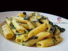 Pasta agli spinaci e cipolla