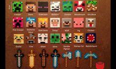 Minecraft hama beads