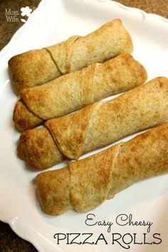 Easy Cheesy Pizza Rolls Recipe #pizzarolls #delicious #yum