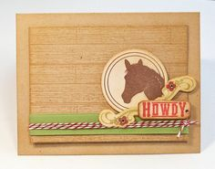 Poppy Paperie by Lisa Johnson: HOWDY and a quick share!