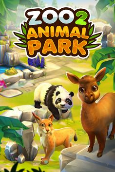 The Zoo, Zoo 2, Farm Games, Smartphones, Park, Hobbit, Game Design, Pikachu, Character Design