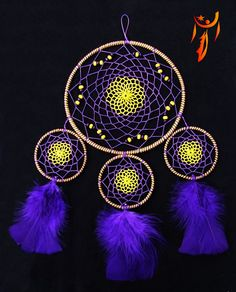 Dreamcatcher made by Naghi. Unique design!