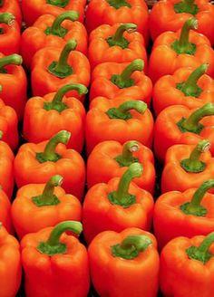 Orange Peppers..
