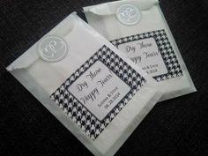 creative Wedding DIY home made custom tissue packs Wedding Favours, Diy Wedding, Happy Tears, The Help, Packaging, Homemade, Weddings, Create, Party